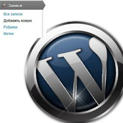 wordpress админ